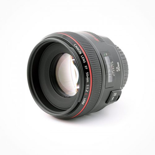 Canon EF Objectif 50mm f/1.2L USM
