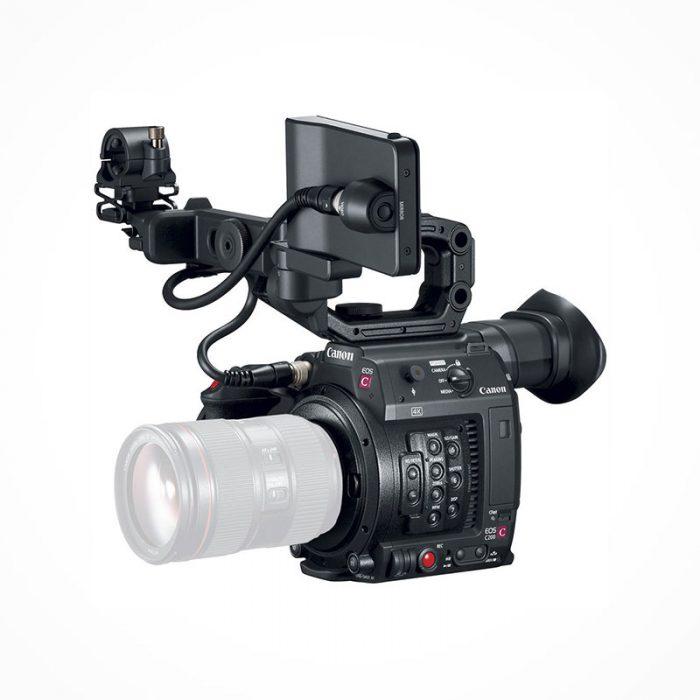 Camescope Grand capteur CANON EOS C300 MARK II