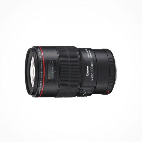 Reflex Canon EF Objectif 100 mm f/2.8 L Macro IS USM