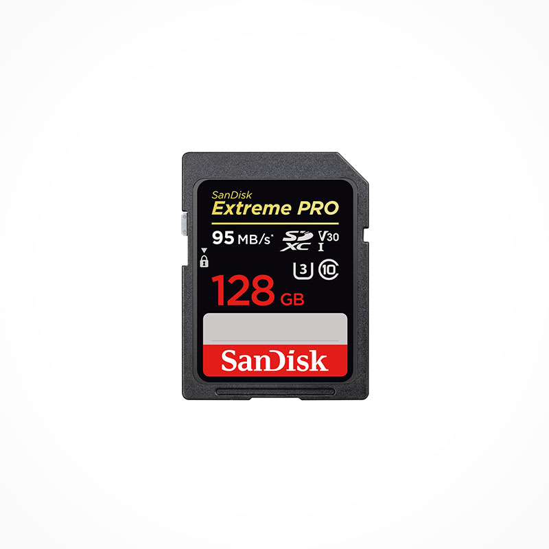 SANDISK Carte mémoire SDXC Extreme PRO UHS-1 U3 V30 128 Go