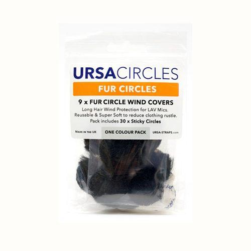 URSA Fur Circles Black