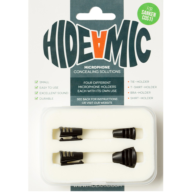 Hide A Mic Set Cos11-Black