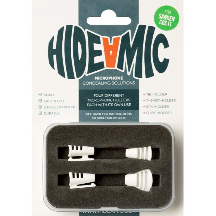 Hide A Mic Set Cos11-White
