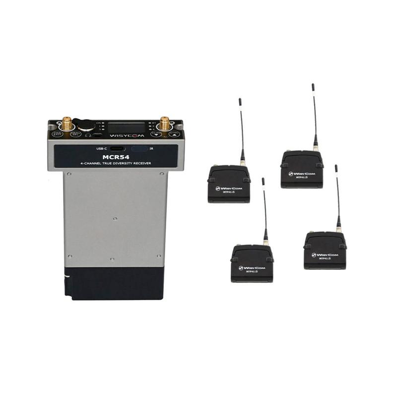 Wisycom Kit MCR54+MTP41s