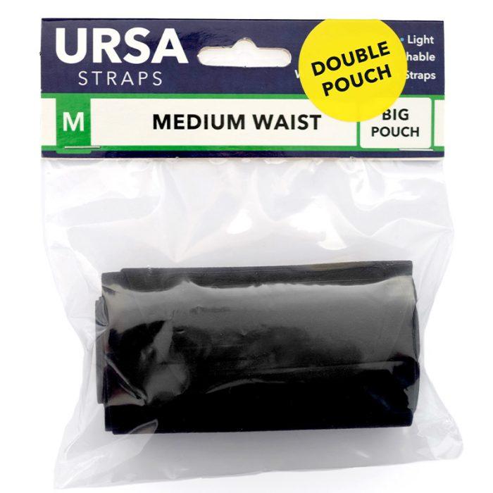URSA ceinture double poche Black