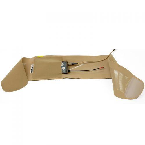 URSA Thigh Strap poche horizontale beige micro